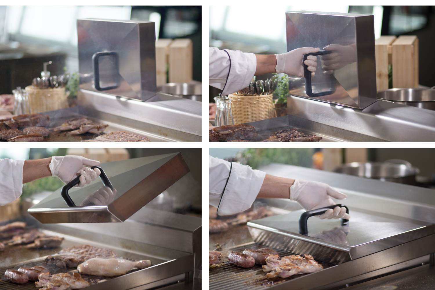 Cloche  FlashGRILL Evolution Zernike